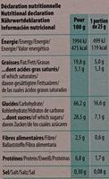 Goûtine sarrasin fourrée Noix de Coco bio et sans gluten - Voedingswaarden - fr