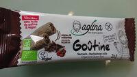 Goûtine sarrasin fourrée cacao & noisettes bio, sans gluten; Vegan et sans huile de palme - Product