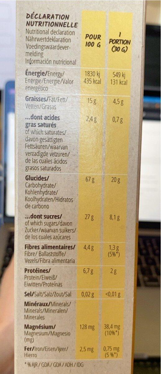 P'tit Carré - Informations nutritionnelles - fr