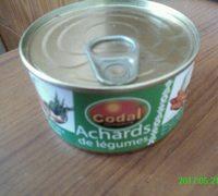 Achard de légumes - Produit - fr