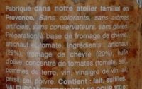 Tartinade de mamie arlette - Ingrédients - fr