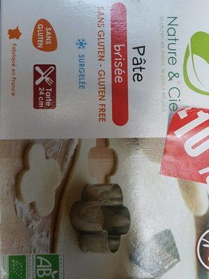 Pate brisée sans gluten - Product - fr