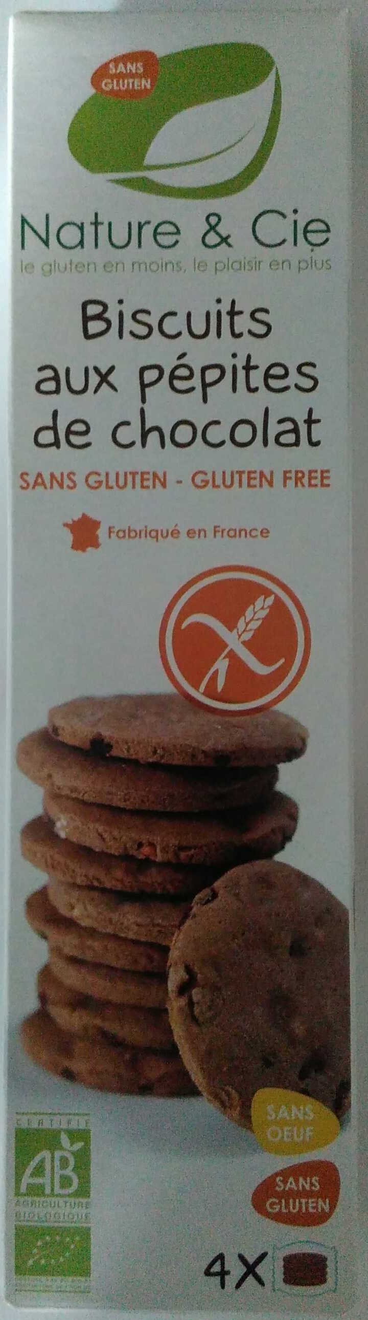 Sablés aux pépites de chocolat - Product - fr