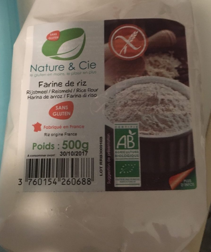 Farine de Riz bio - Product