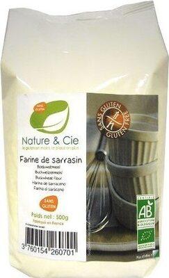 Farine De Sarrasin Bio - Product - fr