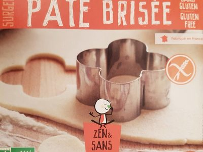 Pate brisee sans gluten - Product