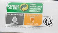 Sablés caramel au beurre salé - Istruzioni per il riciclaggio e/o informazioni sull'imballaggio - fr