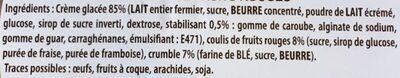 Le pot de glace artisanal - Ingredients - fr