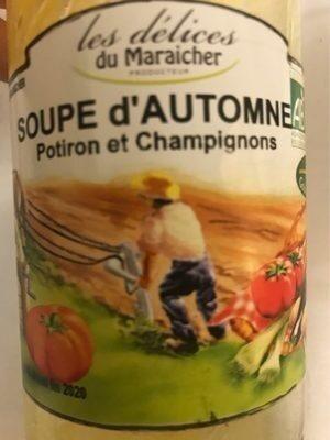 Soupe d'automne potiron et champignons - Product - fr