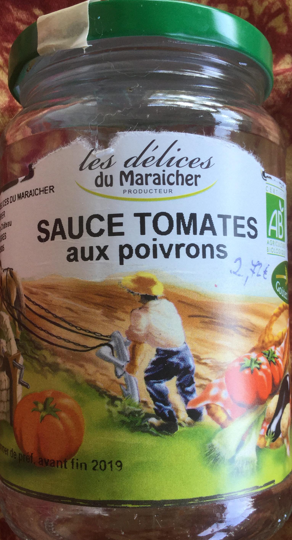 Sauce tomates aux poivrons - Product
