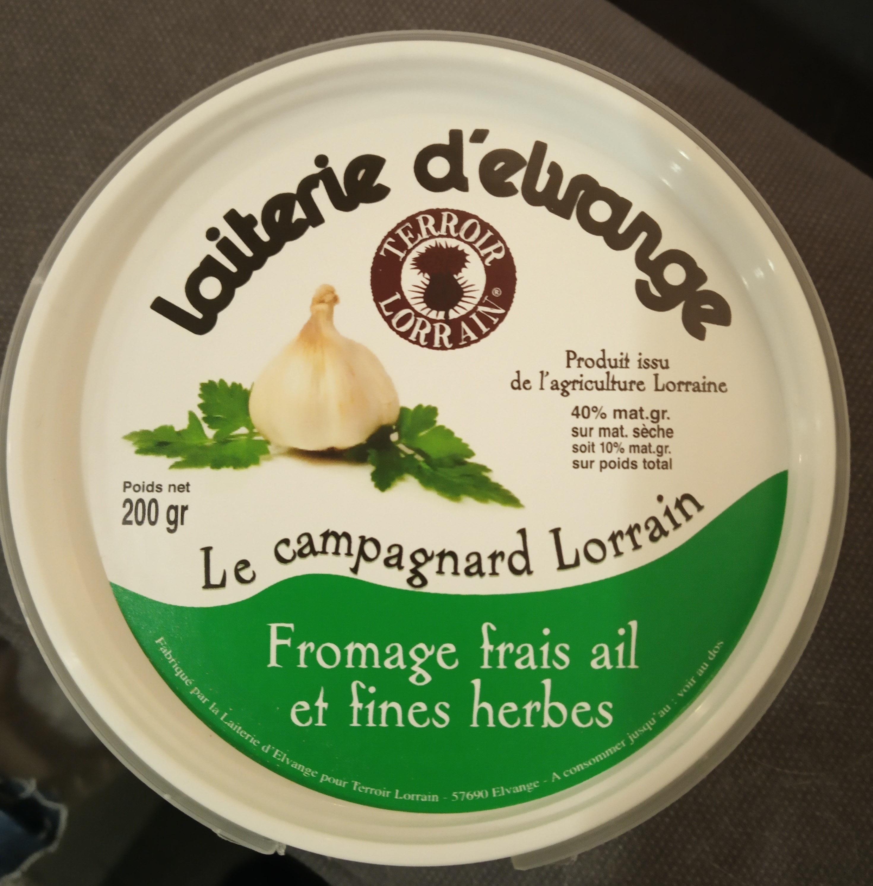 Le campagnard Lorrain - Produit - fr