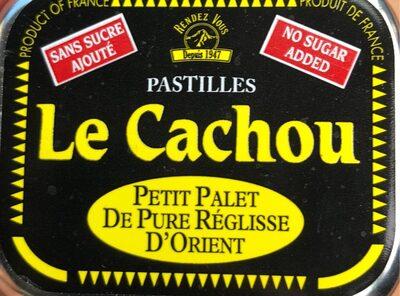 Le cachou pastilles - Produto - fr