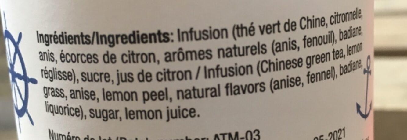 Thé des Marseillais - Ingredients - fr