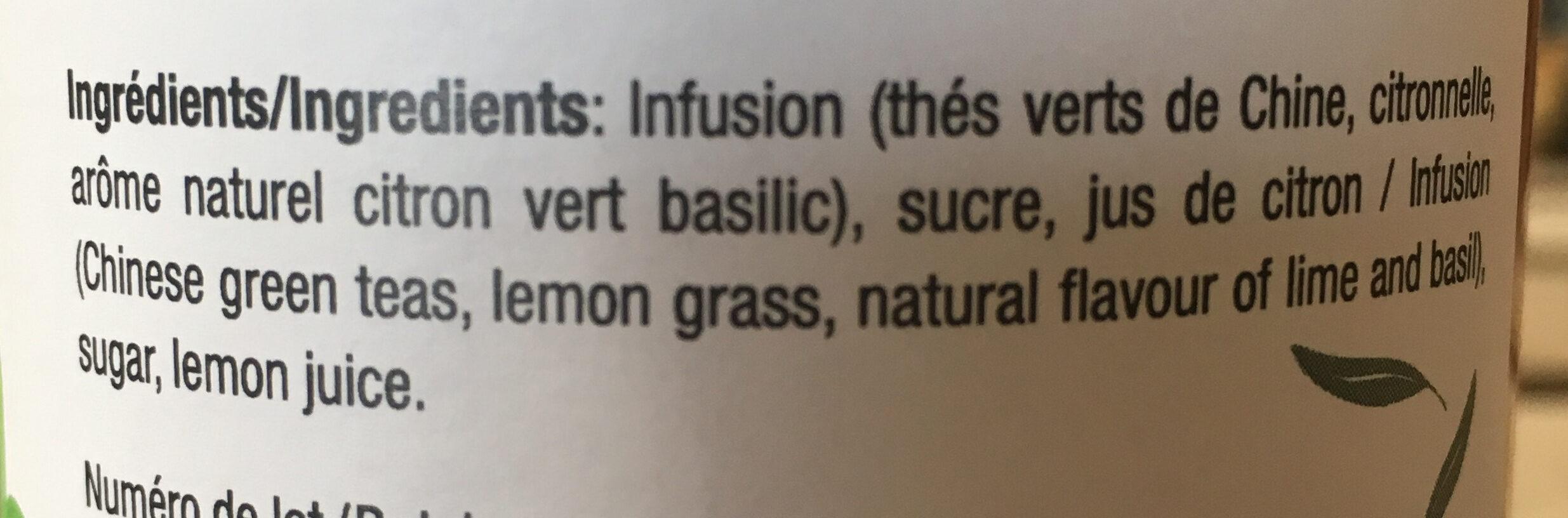 Detox en Provence - Ingredients - fr