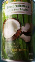 Lait de coco biologique - Product - fr