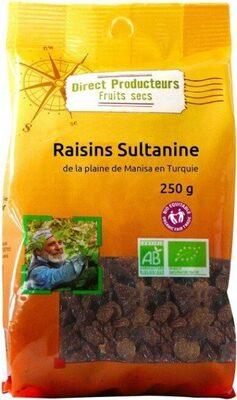 Raisins Sultanine - Produit - fr