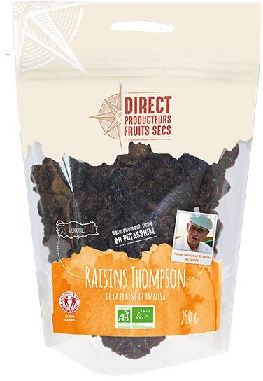 Raisins Thompson de la plaine de Manisa en Turquie - Product - fr