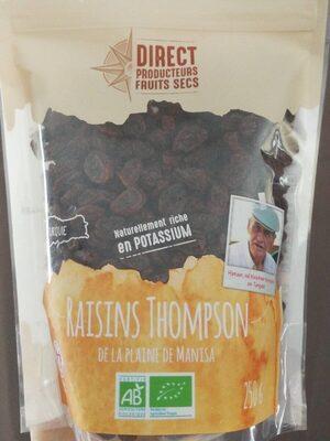 Raisins Thompson de la plaine de Manisa - Product - fr