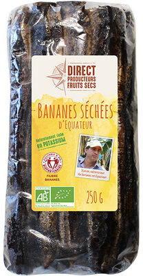 Bananes séchées 250g - Produit