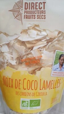 Noix de coco lamelles - Produit - fr