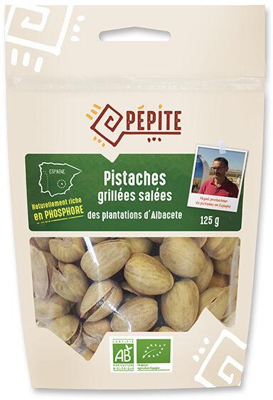 Pistaches Grillées Salées - Produit - fr