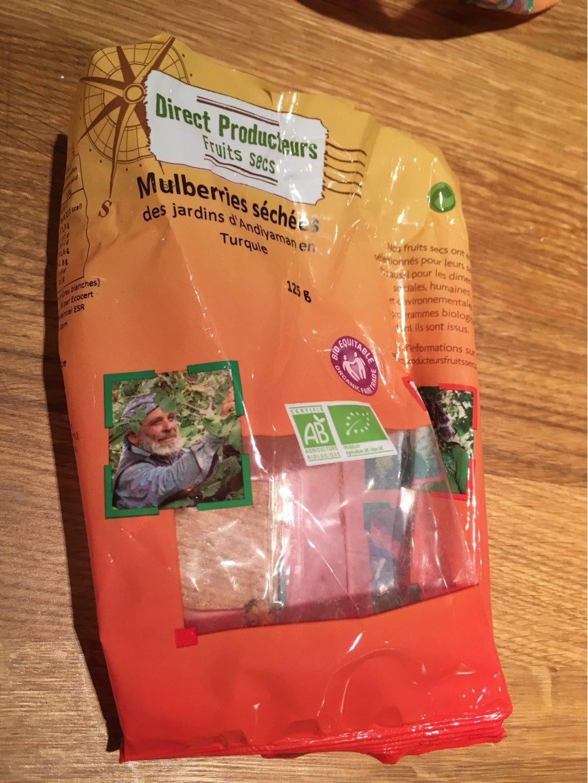 Mulberries séchées bio - Product - fr