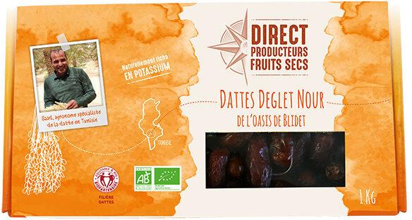 Dattes Deglet Nour de l'oasis de Blidet - Produit - fr