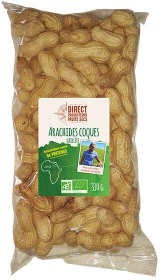 Arachides en coques grillées - Produit - fr