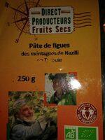 Pâte de figues des montagnes de Nazilli - Produit - fr