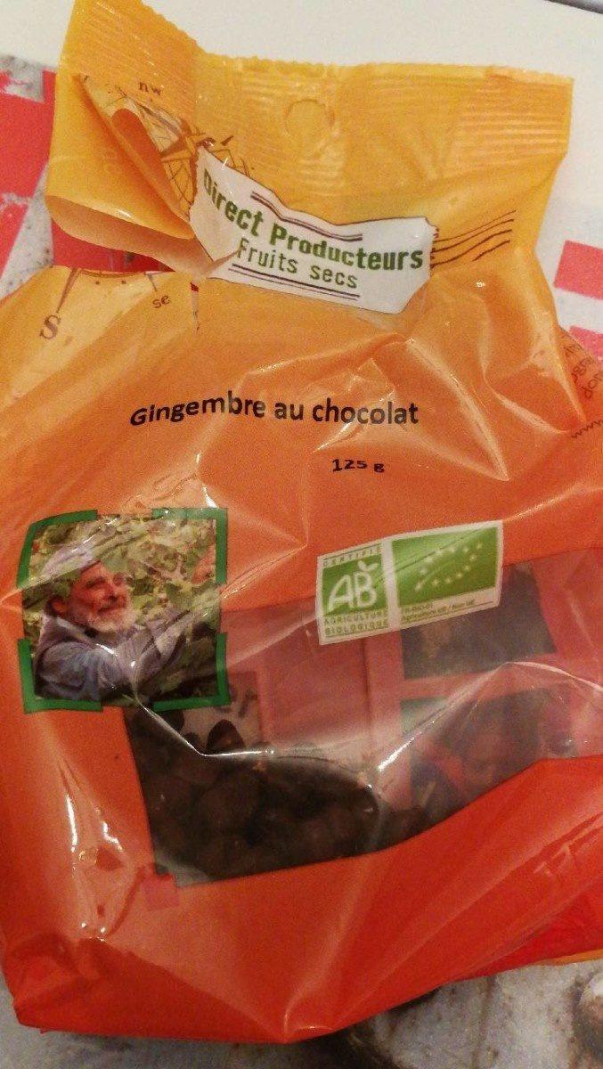 Gingembre au chocolat - Produit - fr