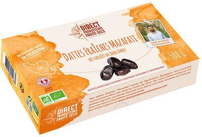 Dattes fraîches Mazafati - Produit