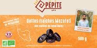 Dattes fraîches Mazafati des vallées du Jebal Barez - Produit - fr