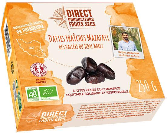Dattes fraîches Mazafati - Produit - fr