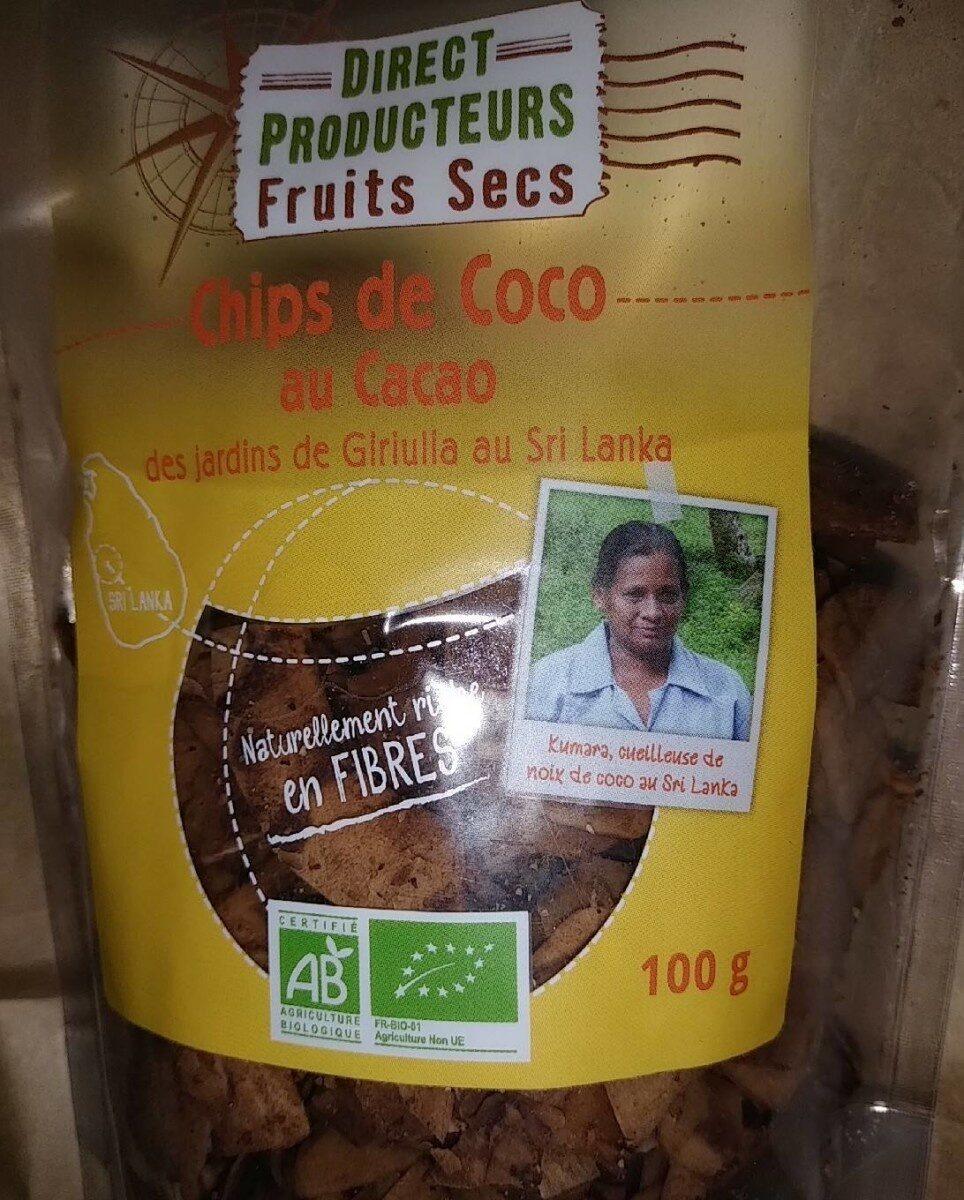 Chips de coco au cacao - Produit - fr