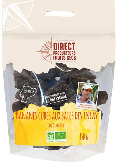 Bananes moelleuses aux baies des incas - Produit - fr
