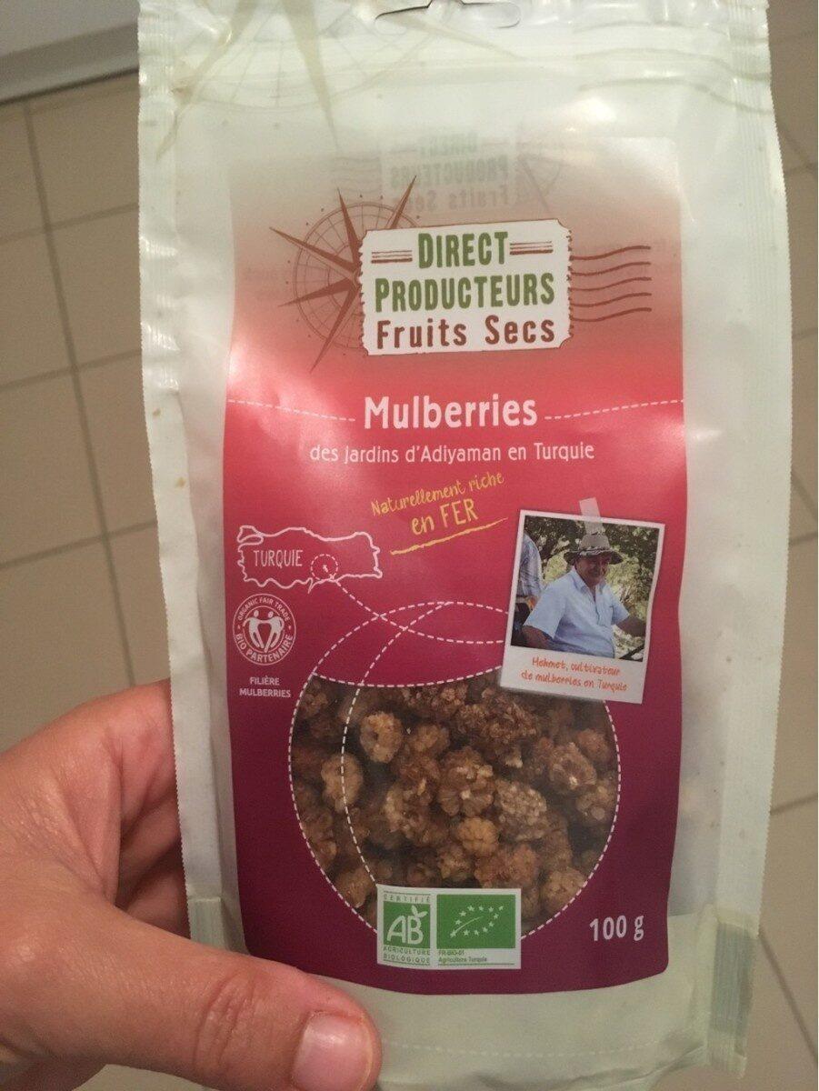 Mulberries séchées - Prodotto - fr