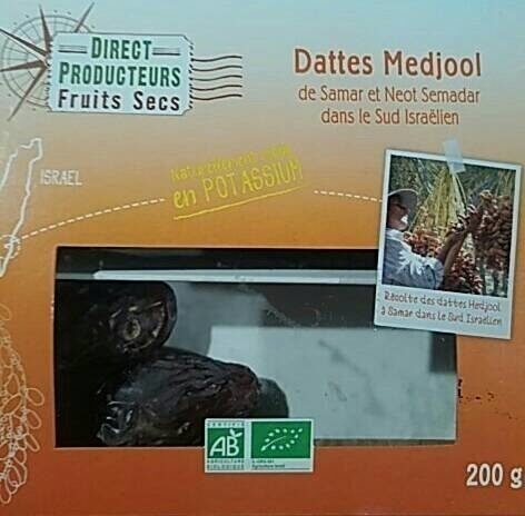 Dattes medjool - Product - fr