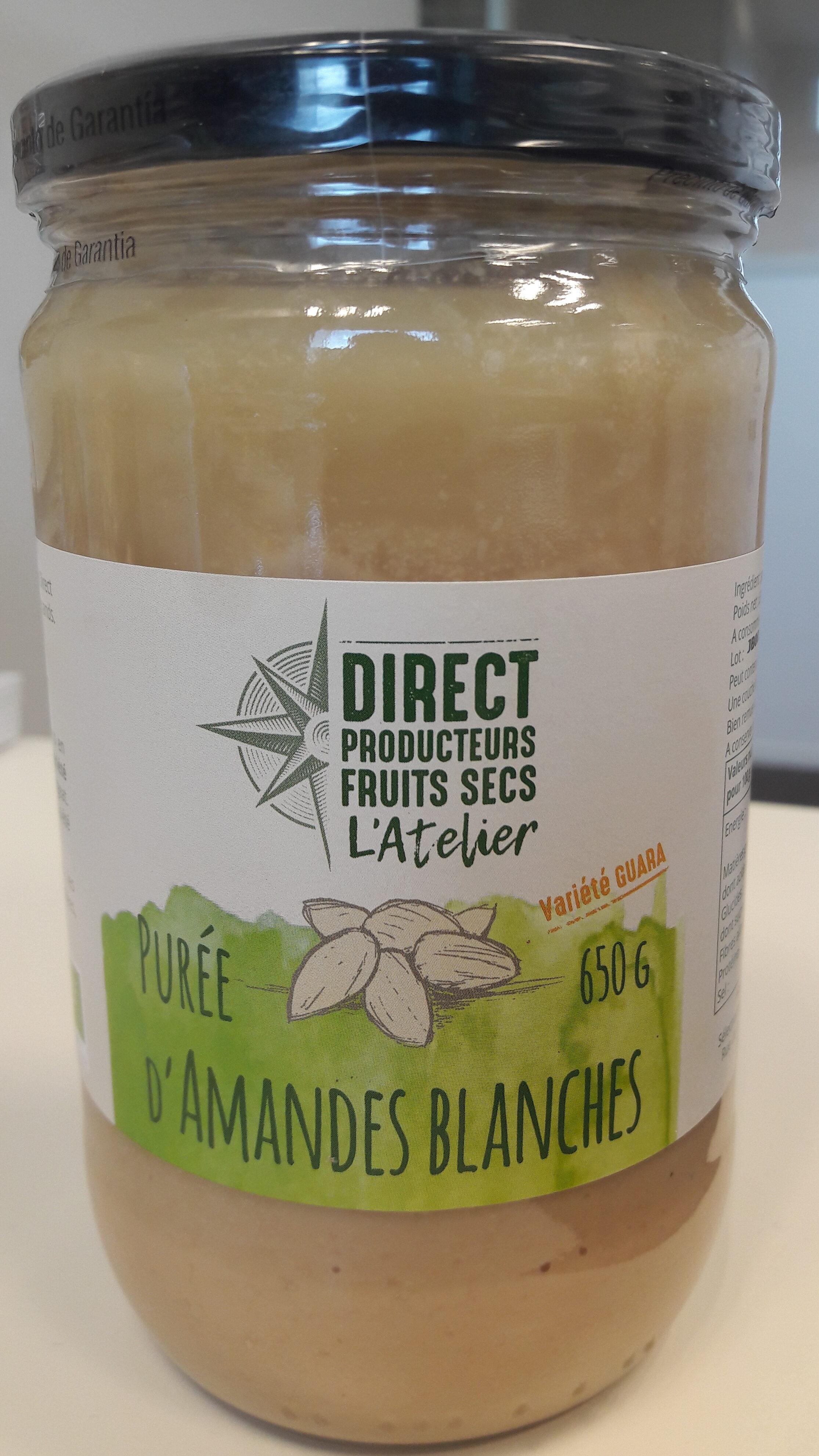 Purée d'amandes blanches - Product - en