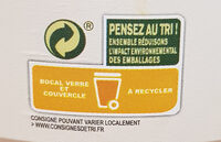 Purée d'amandes complètes - Recycling instructions and/or packaging information - fr
