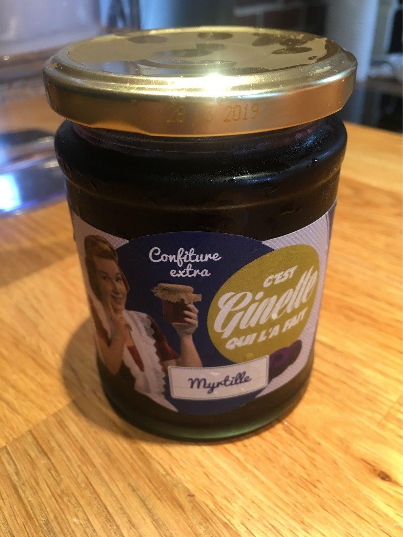 Confiture myrtille - Product