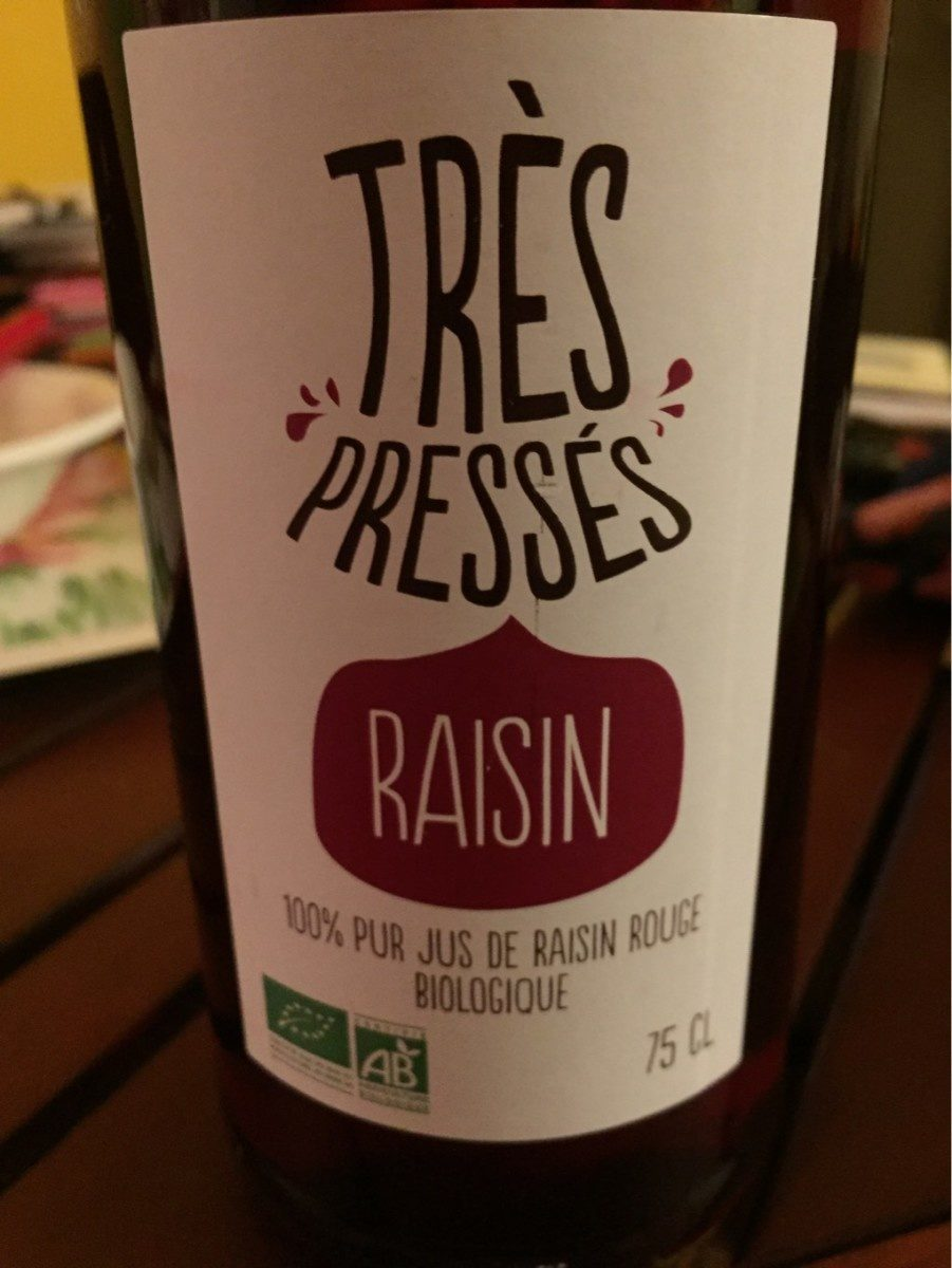 Très pressés raisin - Prodotto - fr