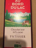 Chocolat noir 56% cacao PÂTISSIER - Produit