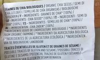 Graines de chia bio - Ingrédients - fr