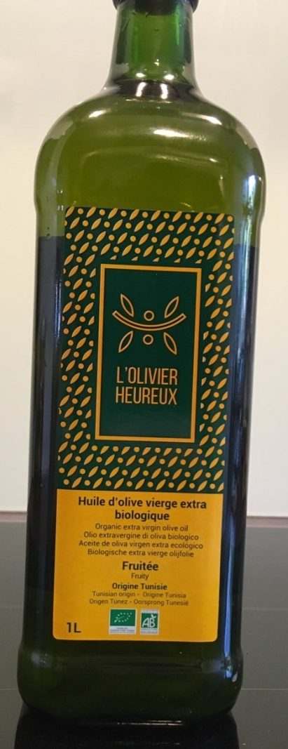 Huile d'olive vierge extra biologique - Product