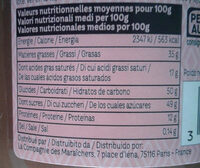 Pate à tartiner bio noisette & cacao - Informations nutritionnelles - fr