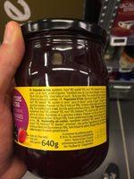 Confiture Bio extra fruits rouges - Ingrédients - fr
