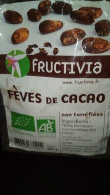 Fèves De Cacao Non Torréfiées Bio - 500 G - Fructivia - Prodotto - fr