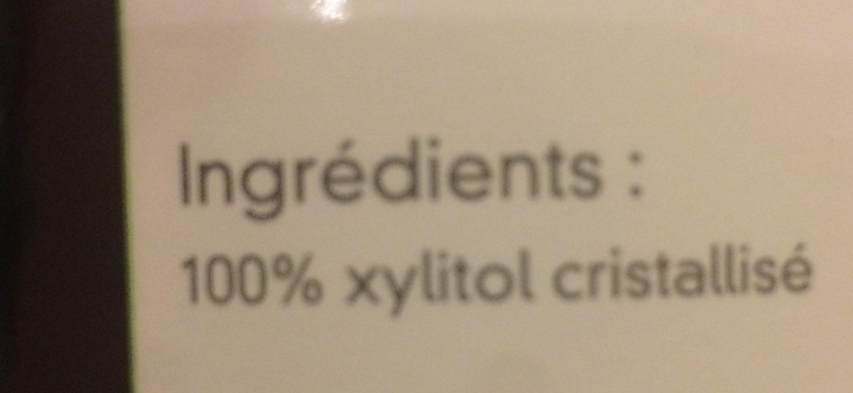 Fructivia Xylitol Cristallisé - Finlande - Pot - Ingrédients - fr