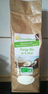 Farine bio de coco - Produit - fr