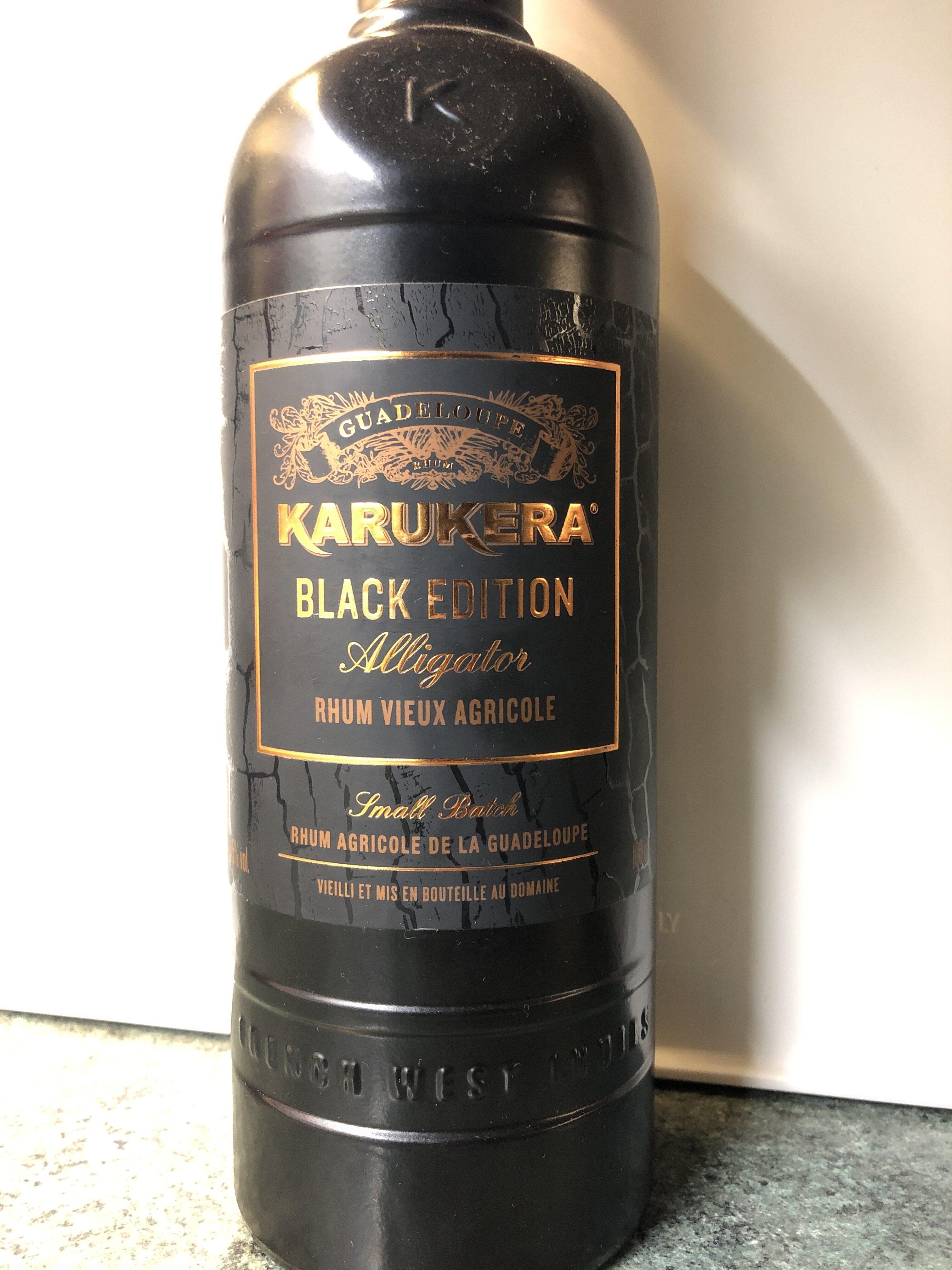 Rhum vieux agricole Karukera black édition Alligator - Produit - fr